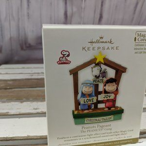 Hallmark pageant peanuts gang xmas 2011 ornament t